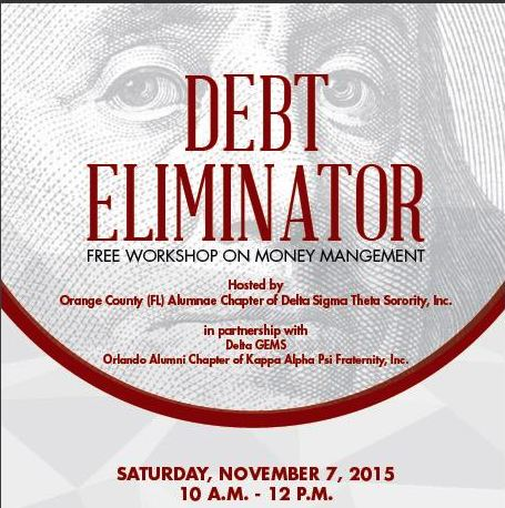 Free Debt Eliminator Workshop on Money Management